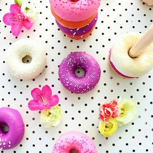 banh donut nuong nhieu mau dep mat - 13