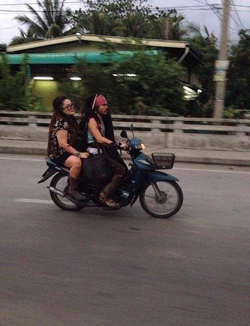 """cuoi te ghe voi nhung """"quai xe"""" duong pho viet - 4"""