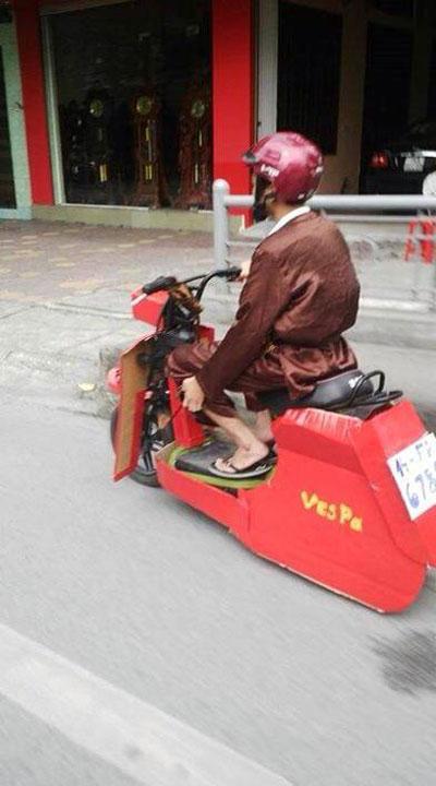 """cuoi te ghe voi nhung """"quai xe"""" duong pho viet - 7"""
