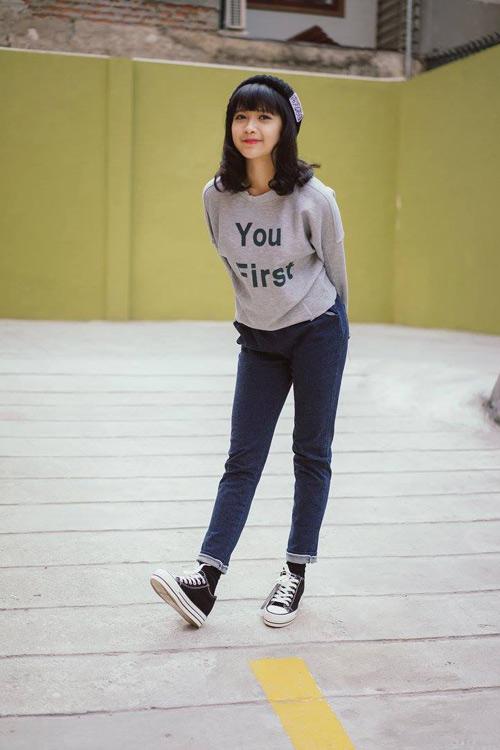 """hot girl mo naive: """"tet van make up, lam toc nhe nhang thoi!"""" - 6"""