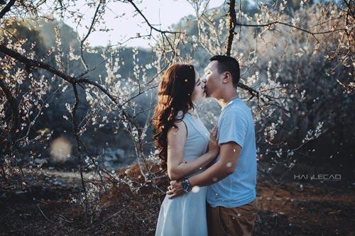 Bộ ảnh cưới ngập sắc hoa của cặp đôi yêu nhau 10 năm-1