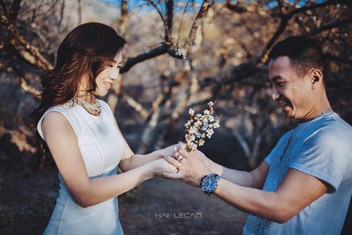 Bộ ảnh cưới ngập sắc hoa của cặp đôi yêu nhau 10 năm-9