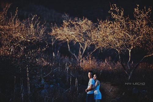 Bộ ảnh cưới ngập sắc hoa của cặp đôi yêu nhau 10 năm-11