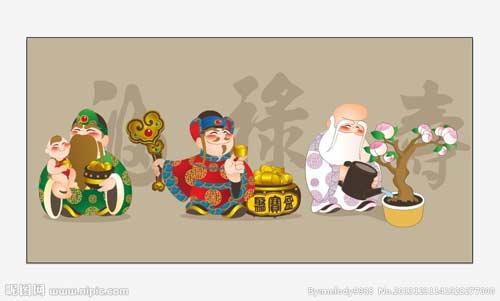 Dán tranh Tết đúng ngày cuối năm kéo Môn Thần bảo vệ nhà-4