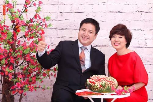 angela phuong trinh don tet cung gia dinh o long an - 6