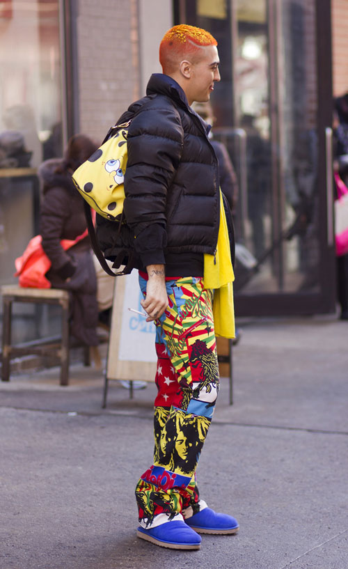 hoang thuy lot top 28 street style an tuong tai jeremy scott - 14