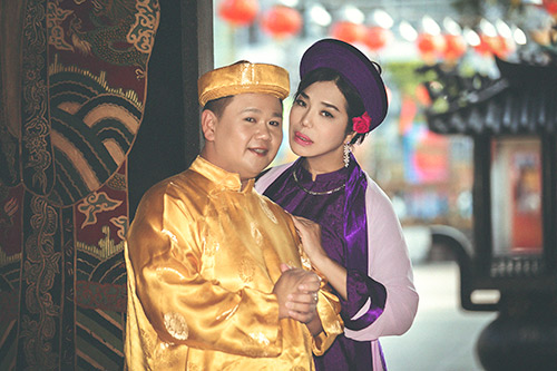 """Cindy Thái Tài khoe vẻ đẹp của """"mệnh phụ phu nhân""""-8"""