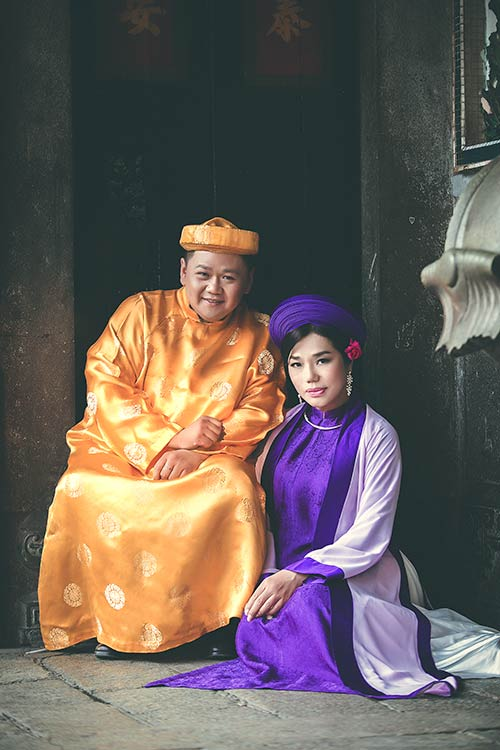 """Cindy Thái Tài khoe vẻ đẹp của """"mệnh phụ phu nhân""""-5"""