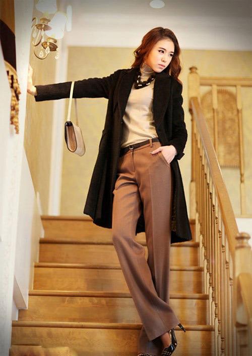 Mách nữ công sở cách mặc quần cao lên tức thì - 10