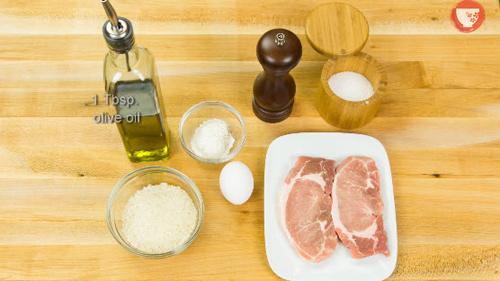 Thịt lợn tẩm bột nướng giòn kiểu Nhật-1