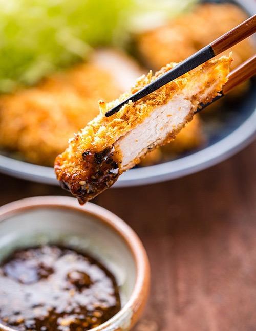 Thịt lợn tẩm bột nướng giòn kiểu Nhật-11