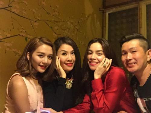 Hà Kiều Anh hạnh phúc du xuân cùng chồng, con-4