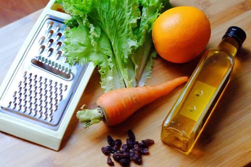 Salad cà rốt, cam cho nàng đẹp da, đẹp dáng-1