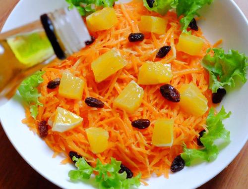 Salad cà rốt, cam cho nàng đẹp da, đẹp dáng-6