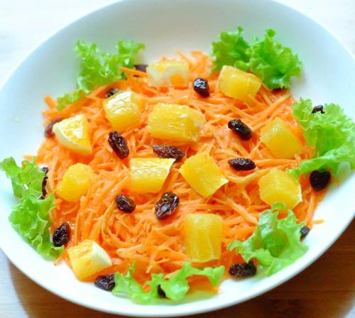 Salad cà rốt, cam cho nàng đẹp da, đẹp dáng-9
