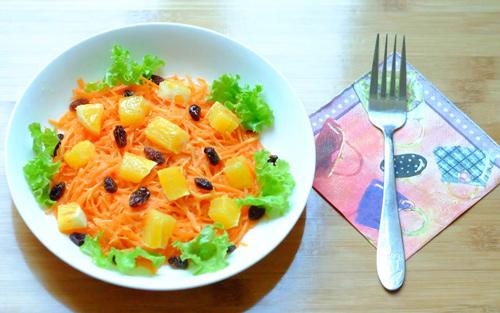 Salad cà rốt, cam cho nàng đẹp da, đẹp dáng-7