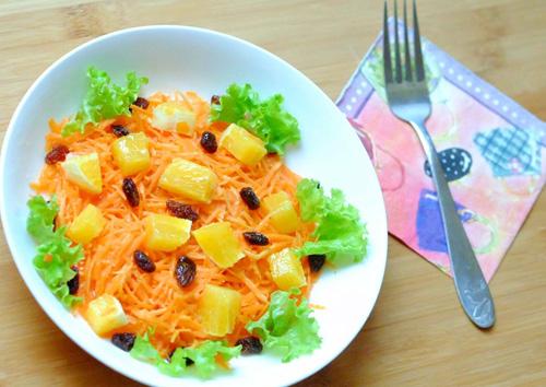 Salad cà rốt, cam cho nàng đẹp da, đẹp dáng-8