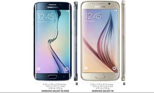 6 điểm khác biệt giữa Samsung Galaxy S6 và Samsung Galaxy S6 Edge-1