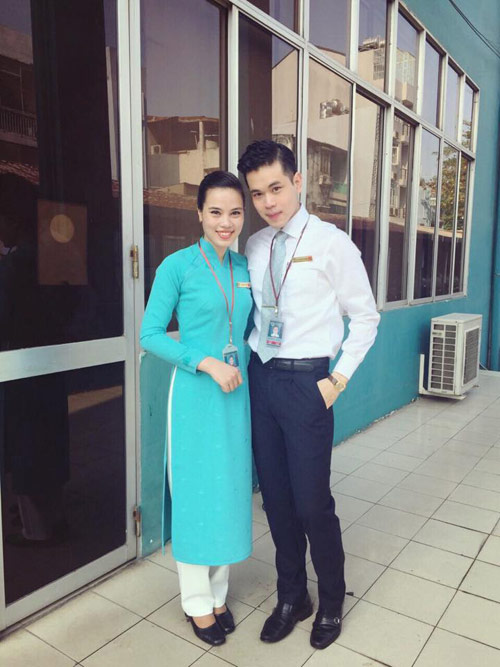 tiep vien vietnam airlines thich thu dien dong phuc moi - 6