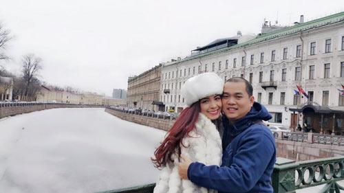 """Vợ chồng Thúy Hạnh vui vẻ """"du hí"""" nước Nga-3"""