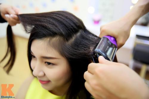 8/3: Xinh lung linh với tóc xoăn sóng to bồng bềnh - 4