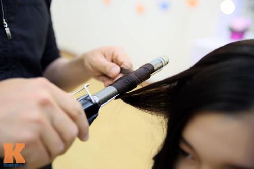 8/3: Xinh lung linh với tóc xoăn sóng to bồng bềnh - 5