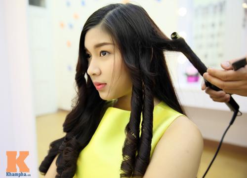 8/3: Xinh lung linh với tóc xoăn sóng to bồng bềnh - 6