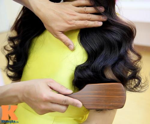 8/3: Xinh lung linh với tóc xoăn sóng to bồng bềnh - 9
