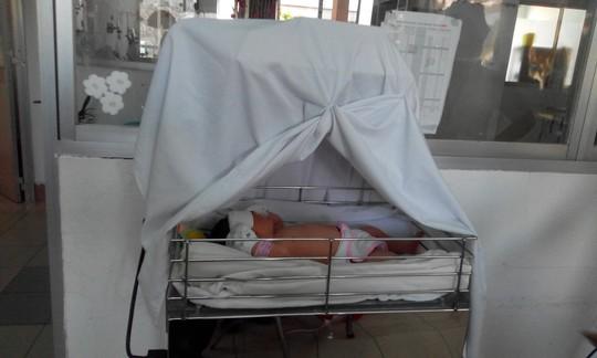 Bé gái sơ sinh bị bỏ rơi giữa đường - 1