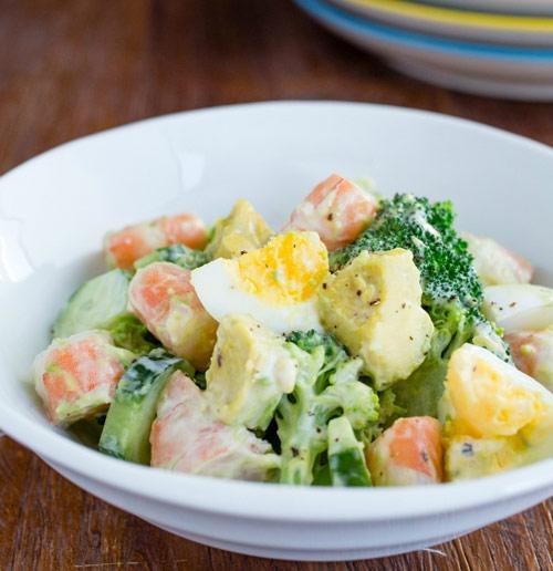 salad tom de lam cho cuoi tuan - 12