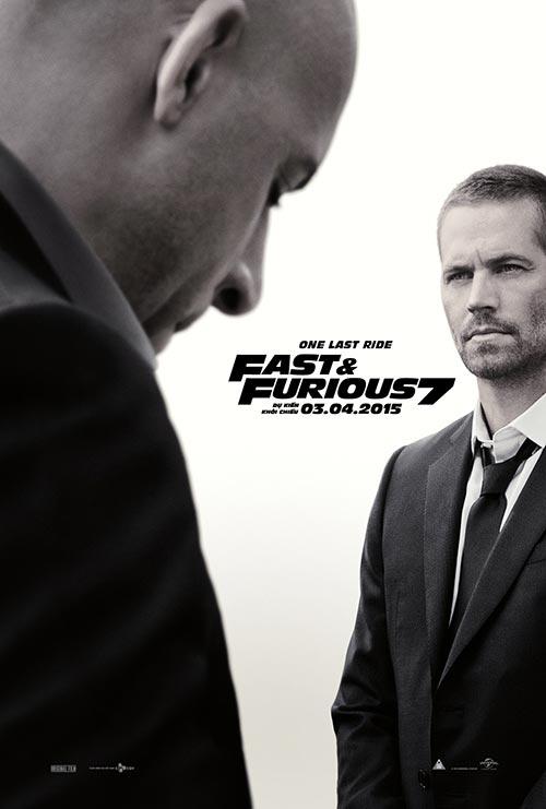 """nghet tho voi trich doan phim dau tien cua """"fast & furious 7"""" - 1"""