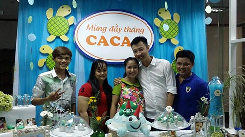 oc thanh van lam tiec gian di mung day thang be cacao - 3