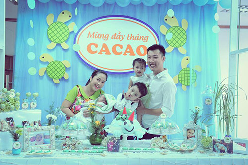oc thanh van lam tiec gian di mung day thang be cacao - 1