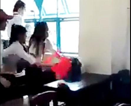 lam ro clip nu sinh bi danh hoi dong - 1