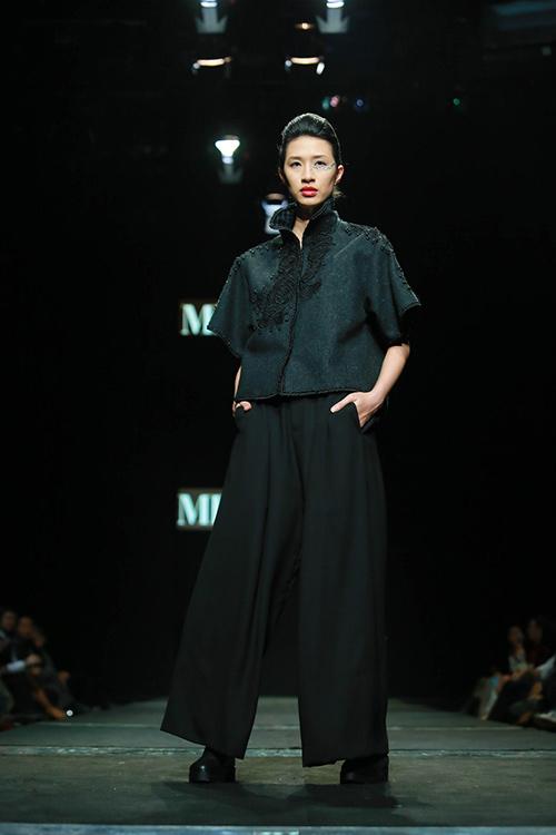 "minh hanh ""xuat chieu"" tai tuan thoi trang thu dong 2015 - 10"