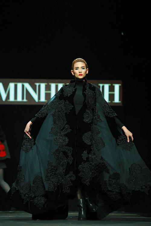 "minh hanh ""xuat chieu"" tai tuan thoi trang thu dong 2015 - 13"