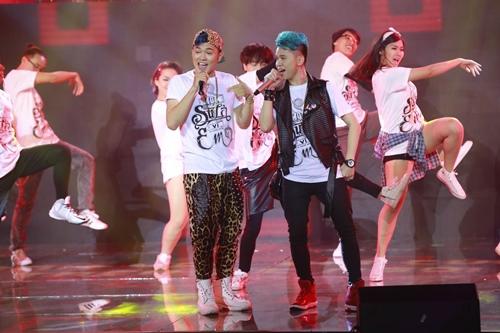 isaac bat ngo vuot diem son tung m-tp tai the remix - 14