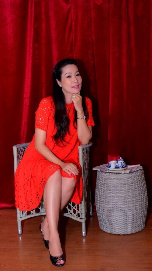 "trinh kim chi mang bau 6 thang van ""cham cay"" - 10"