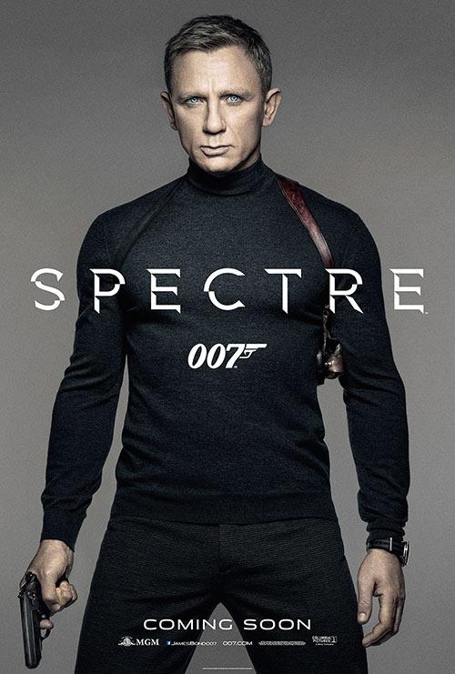 """james bond don doc tren poster moi """"trinh lang"""" cua """"spectre"""" - 1"""