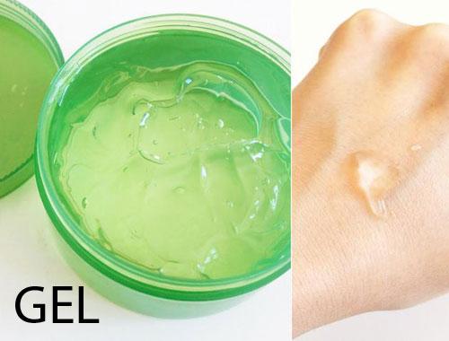 phan biet cac dang san pham duong da: gel, cream, lotion - 2