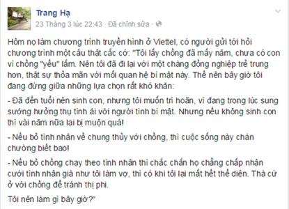 """trang ha soc voi tam su cua nguoi dan ba co chong """"yeu"""" - 2"""