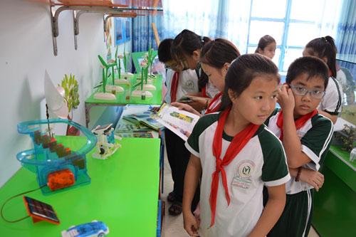 Trường học xanh an toàn, thân thiện với môi trường-1