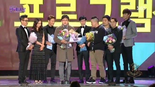 show running man dai thang tai sbs entertainment awards - 2