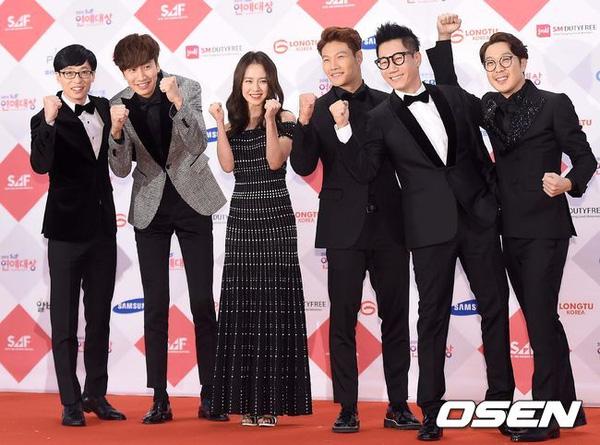 show running man dai thang tai sbs entertainment awards - 8