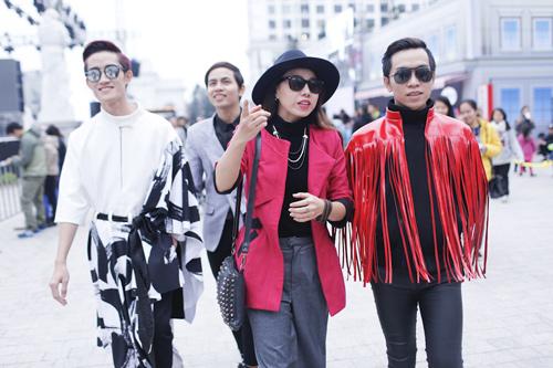 Hoa hậu Thu Thảo khiến Top 9 Project Runway ngẩn ngơ-8