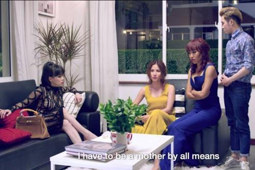 """Diễm My hé lộ cảnh """"nóng"""" cùng Bình Minh trong """"Gái già lắm chiêu""""-4"""