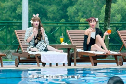 """Diễm My hé lộ cảnh """"nóng"""" cùng Bình Minh trong """"Gái già lắm chiêu""""-5"""