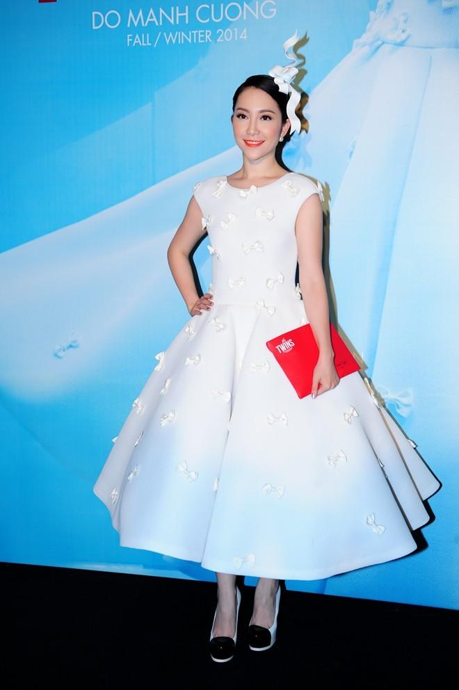 """Mặc váy xòe phồng không bị """"nuốt dáng"""" như Linh Nga-2"""