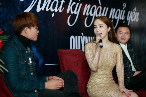 Doãn Tuấn tình cảm hôn Quỳnh Nga trong ngày ra mắt MV-11