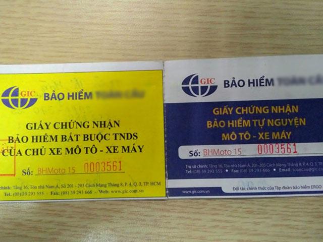 "csgt noi gi ve bao hiem xe may ""sieu"" re, ban tran lan? - 1"